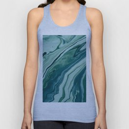 Blue Planet Marble Unisex Tank Top