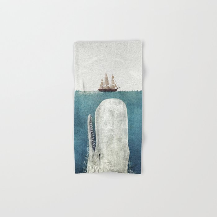 The Whale - vintage Hand & Bath Towel