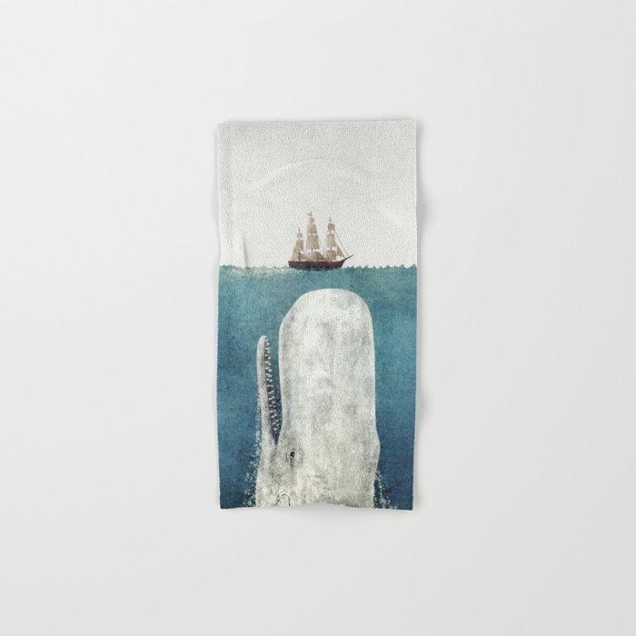 The White Whale Hand & Bath Towel