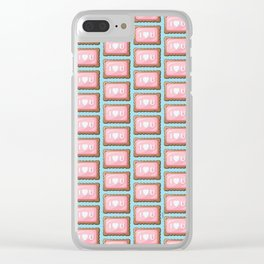 ZA-Cookie: I Love U Clear iPhone Case