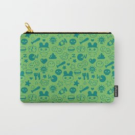 Virtual Pet (Green) Carry-All Pouch