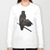 dark souls Long Sleeve T-shirts featuring Dark Souls by Oujo