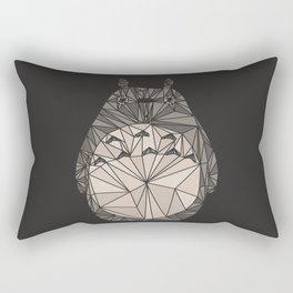 totoro wireframe Rectangular Pillow