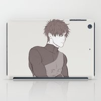 naruto iPad Cases featuring Naruto: Gaara  by Yuki119