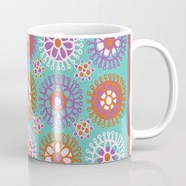 Bright Flower Doodles Coffee Mug