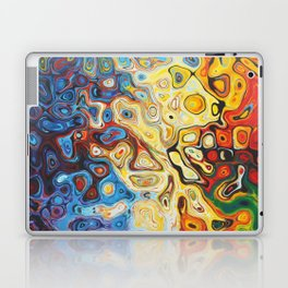 Colourful Abstract Pattern Laptop & iPad Skin