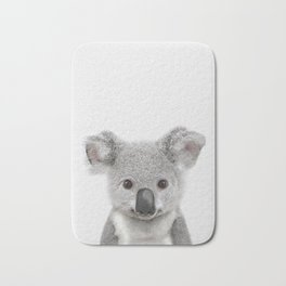 Koala Print, Australian Baby Animal, Nursery Wall Art, Peekaboo Animals, Koala Bath Mat
