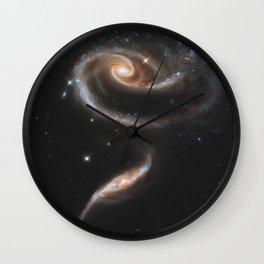Pair of Galaxies Wall Clock
