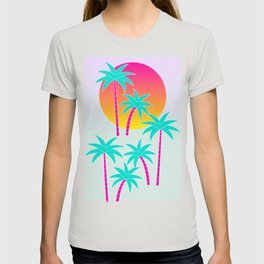 Hello Miami Sunset T-shirt