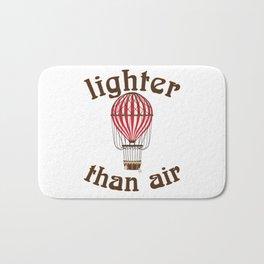 Retro Balloonist Hot Air Balloon Pilot Ballooning Gift Bath Mat