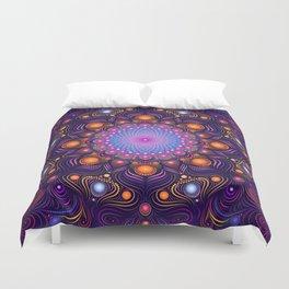 """""""Guardian"""" Mandala painting Duvet Cover"""