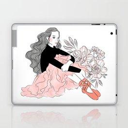 Lovely ballerina Laptop & iPad Skin