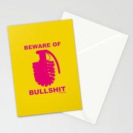 BEWARE OF BULLSHIT! Stationery Cards