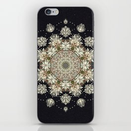 Winter's Spirit Mandala iPhone Skin