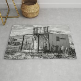 Ghost Town Post Office Rug
