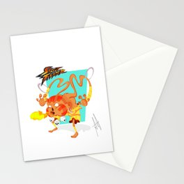 STREET FIGHTER - DHALSIN Stationery Cards