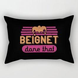 Mardi Gras - Beignet Done That Rectangular Pillow