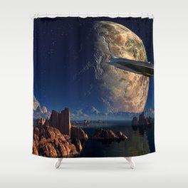 Imaginary  Land 2 Shower Curtain