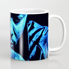heavy black heart (Lamar) Coffee Mug