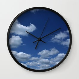 Spring Day in Indiana. Wall Clock