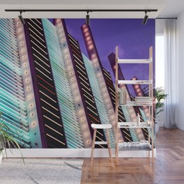 Line it Up Wall Mural