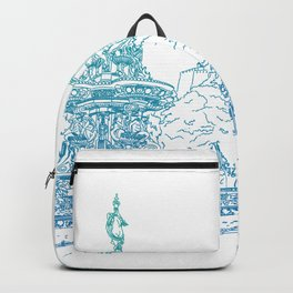 Princes Street Gardens Backpack