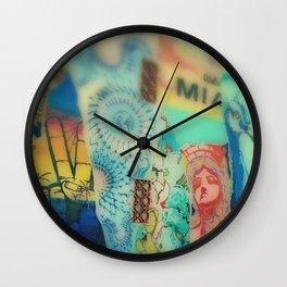 Welcome Street Art Wall Clock