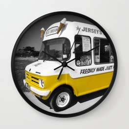 Respect to the man in the Ice Cream Van Wall Clock