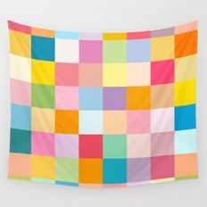Candy colors Wall Tapestry