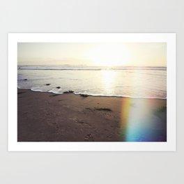 Heaven's Light Rays California Art Print