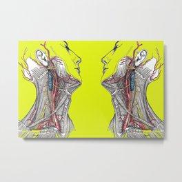 Dual anatomy Metal Print