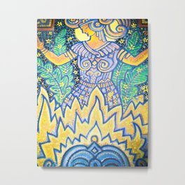 goddess warrior Metal Print