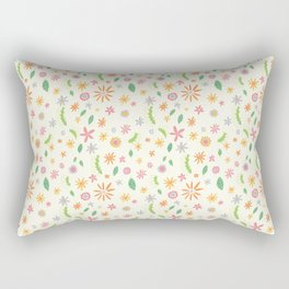 Colourful Daisies Rectangular Pillow
