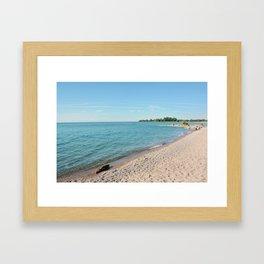 AFE Kew-Balmy Beach 8 Framed Art Print