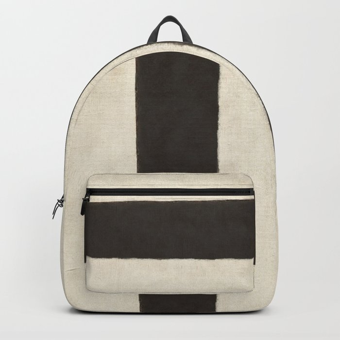 White Black Backpack