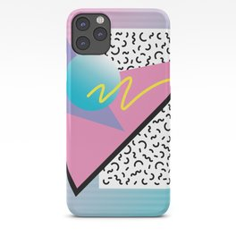 Memphis pattern 41 - 80s / 90s Retro iPhone Case