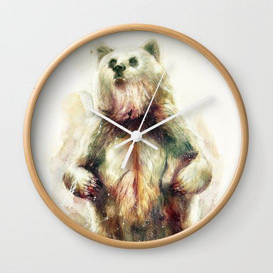 Bear I Wall Clock