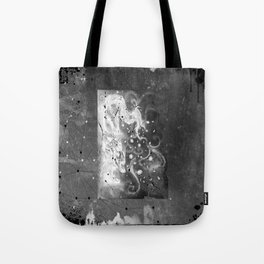 Blossom wolf: BW Tote Bag