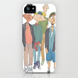 Hillwood Gang iPhone Case