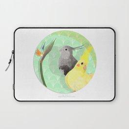 Two Cockatiels Laptop Sleeve