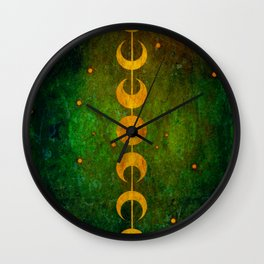 The Serpent Oracle Wall Clock