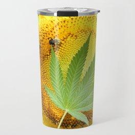 Sunflower Sativa Travel Mug