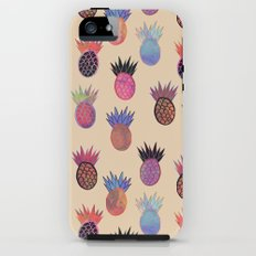 Tutti Frutti - Pineapple Print iPhone (5, 5s) Tough Case