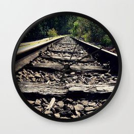 Railraod of Life Wall Clock