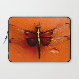 Dragonfly on the Wall Laptop Sleeve