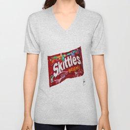 Skittles Unisex V-Neck