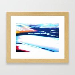 Velocity 101 Framed Art Print