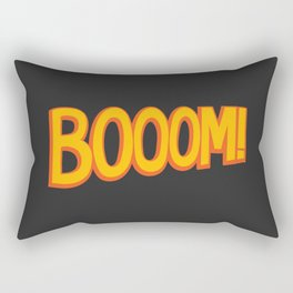 Booom! Rectangular Pillow