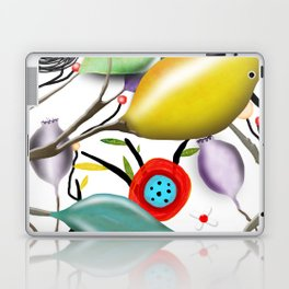 Cinque Terre - Lemons Lemon - Italian Riviera - Limoni Lemon Pattern Home Decor Laptop & iPad Skin