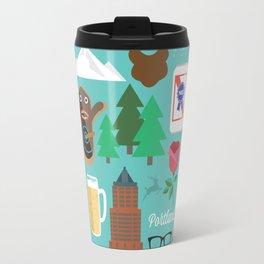 PDX patten Travel Mug